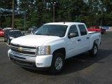 2011 Summit White Chevrolet Silverado 1500 LT Crew Cab 4x4 #35789529