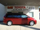 2011 Salsa Red Pearl Toyota Sienna Limited AWD #35788424