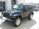 2010 Black Jeep Wrangler Sahara 4x4 #35789173