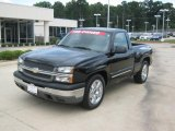 2005 Black Chevrolet Silverado 1500 LS Regular Cab #35789178