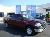 2006 Dark Toreador Red Metallic Ford F150 XLT SuperCab #35788816
