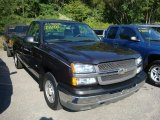 2004 Dark Gray Metallic Chevrolet Silverado 1500 Regular Cab #35788824