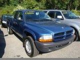 2003 Atlantic Blue Pearlcoat Dodge Dakota SXT Club Cab 4x4 #35788826