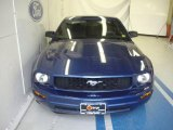 2007 Vista Blue Metallic Ford Mustang V6 Deluxe Coupe #35788841