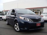 2011 South Pacific Blue Pearl Toyota Sienna LE #35789670