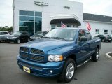 2005 Atlantic Blue Pearl Dodge Ram 1500 SLT Quad Cab 4x4 #35789674