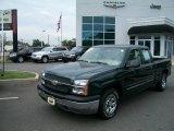 2005 Dark Green Metallic Chevrolet Silverado 1500 LS Extended Cab #35789675