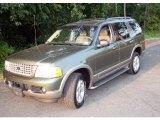 2003 Estate Green Metallic Ford Explorer Eddie Bauer 4x4 #35899318