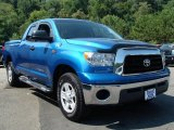 2007 Blue Streak Metallic Toyota Tundra SR5 Double Cab 4x4 #35899778