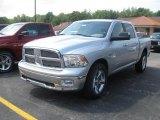 2010 Bright Silver Metallic Dodge Ram 1500 Big Horn Crew Cab 4x4 #35900053