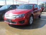 2011 Red Candy Metallic Ford Fusion SE #35900172
