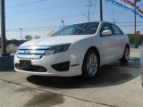 2011 White Suede Ford Fusion SE #35900173