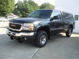 2003 Carbon Metallic GMC Sierra 2500HD Regular Cab 4x4 #35900179