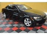 2007 Jet Black BMW 3 Series 328i Convertible #35899937