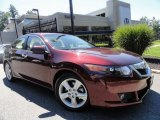 2010 Basque Red Pearl Acura TSX Sedan #35956119