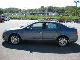2011 Steel Blue Metallic Ford Fusion SEL #35956046