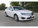 2010 White Platinum Tri-coat Metallic Ford Fusion SE V6 #35956062