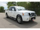 2007 White Nissan Titan LE Crew Cab #35974918