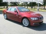 2011 Vermillion Red Metallic BMW 3 Series 335i Convertible #35975276