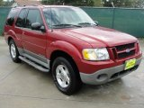 2001 Toreador Red Metallic Ford Explorer Sport 4x4 #35975026