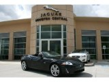 Ultimate Black Metallic Jaguar XK in 2010