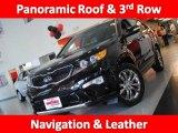 2011 Ebony Black Kia Sorento SX V6 #35974963