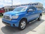 2007 Blue Streak Metallic Toyota Tundra Limited Double Cab #35999208