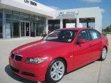 2008 Crimson Red BMW 3 Series 328i Sedan #35999213