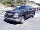 2003 Dark Gray Metallic Chevrolet Silverado 1500 LS Extended Cab 4x4 #35998708