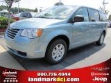 2010 Clearwater Blue Pearl Chrysler Town & Country LX #35998948