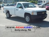 2011 Summit White Chevrolet Silverado 1500 Regular Cab #35999255