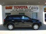2011 Ebony Black Kia Sorento LX AWD #35998770