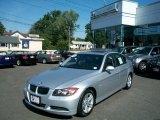 2008 Arctic Metallic BMW 3 Series 328xi Sedan #35998778