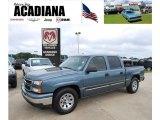 2007 Blue Granite Metallic Chevrolet Silverado 1500 Classic LS Crew Cab #35998984
