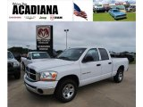 2006 Bright White Dodge Ram 1500 SLT Quad Cab #35998990