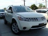 2007 Glacier Pearl White Nissan Murano S AWD #35999566