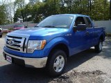 2010 Blue Flame Metallic Ford F150 XLT SuperCab 4x4 #35998867