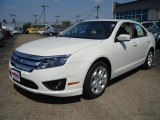 2011 White Suede Ford Fusion SE #35998877
