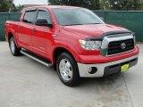2008 Radiant Red Toyota Tundra SR5 TRD CrewMax #35999063