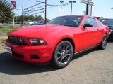 2011 Race Red Ford Mustang V6 Coupe #35998881