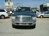 2004 Dark Green Satin Metallic Ford F250 Super Duty King Ranch Crew Cab 4x4 #35999084