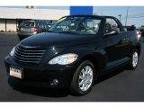 2007 Black Chrysler PT Cruiser Convertible #35999644