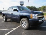Imperial Blue Metallic Chevrolet Silverado 1500 in 2011