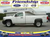 2009 Summit White Chevrolet Silverado 1500 Regular Cab 4x4 #36063338