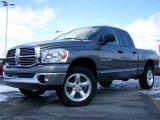 2007 Mineral Gray Metallic Dodge Ram 1500 SLT Quad Cab 4x4 #3588466