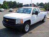 2011 Summit White Chevrolet Silverado 1500 Extended Cab #36064519