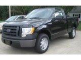 2010 Tuxedo Black Ford F150 XL Regular Cab #36064555