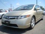 2007 Borrego Beige Metallic Honda Civic EX Sedan #36062888