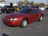 2003 Redfire Metallic Ford Mustang V6 Coupe #3569255