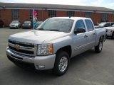 2011 Sheer Silver Metallic Chevrolet Silverado 1500 LT Crew Cab #36064569